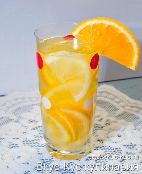 Напиток в жару (хорошо освежает).